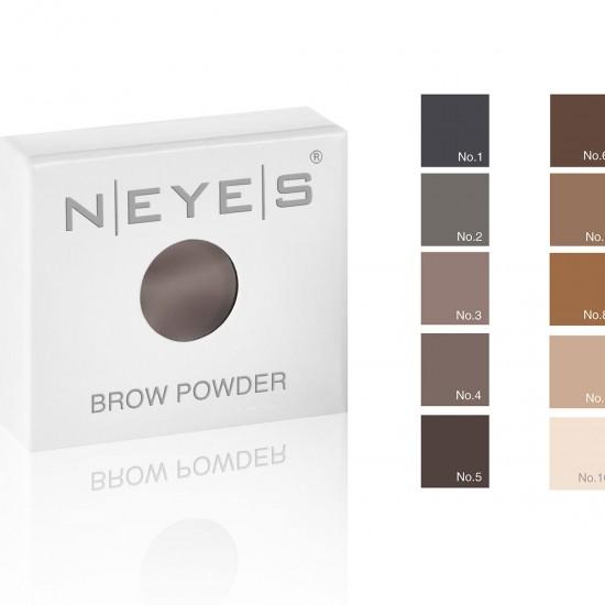 Neyes Brow Powder Palette 3er GEVULD Wenkbrauw palette