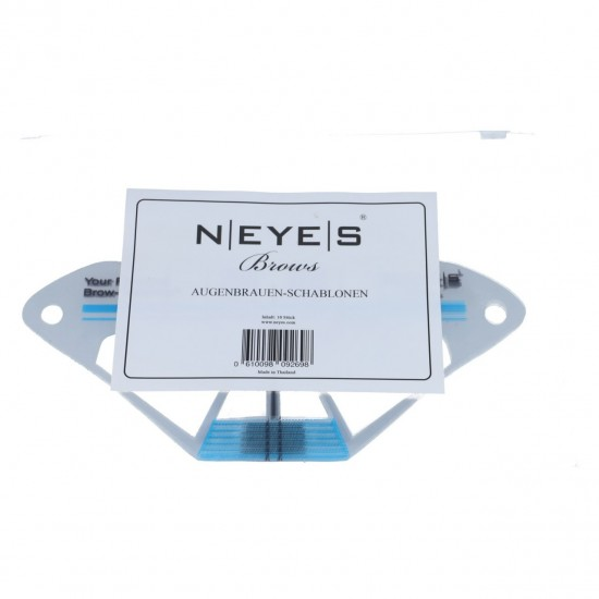Neyes Eyebrow Template 10 stuks Masker
